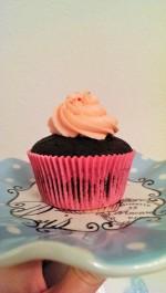 Rose flavored Cupcake